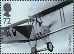 Air Shows 72p Stamp (2008) Robert Wyndham, parachutist
