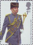 RAF Uniforms 1st Stamp (2008) Drum Major RAF Central Band 2007