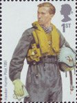 RAF Uniforms 1st Stamp (2008) Hawker Hunter Pilot 1951
