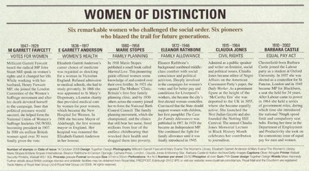 Women of Distinction (2008)