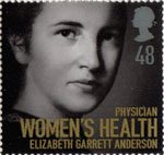 Women of Distinction 48p Stamp (2008) Elizabeth Garrett Anderson