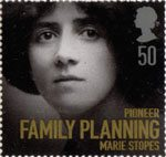 Women of Distinction 50p Stamp (2008) Marie Stopes