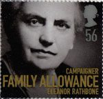 Women of Distinction 56p Stamp (2008) Eleanor Rathbone