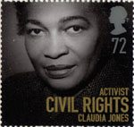 Women of Distinction 72p Stamp (2008) Claudia Jones