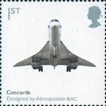 Design Classics 1st Stamp (2009) Concorde by Aerospatiale-BAC
