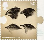 Charles Darwin 50p Stamp (2009) Ornithology