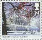 Endangered Plants and 250th Anniversary of Kew Gardens 1st Stamp (2009) Palm House, Kew Gardens
