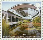 Endangered Plants and 250th Anniversary of Kew Gardens 1st Stamp (2009) Millennium Seed Bank, Wakehurst Place