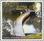 Endangered Plants and 250th Anniversary of Kew Gardens 81p Stamp (2009) Sacklet Crossing, Kew Gardens