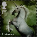 Mythical Creatures 1st Stamp (2009) Unicorns