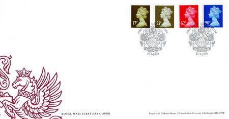 2009 Definitive First Day Cover from Collect GB Stamps