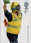 Royal Navy Uniforms 1st Stamp (2009) Flight Deck Officer 2009