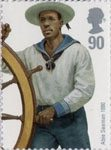 Royal Navy Uniforms 90p Stamp (2009) Able Seaman 1880