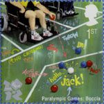 Olympic and Paralympic Games 2012 1st Stamp (2009) Paralympic Games - Boccia