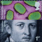 The Royal Society 1st Stamp (2010) Edward Jenner, Vaccination