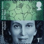 The Royal Society 1st Stamp (2010) Dorothy Hodgkin, Crystallography