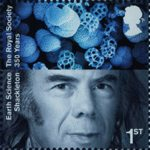 The Royal Society 1st Stamp (2010) Sir Nicholas Shackleton, Earth Sciences