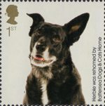 Battersea Dogs and Cats 1st Stamp (2010) Herbie