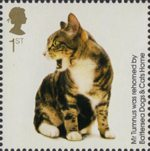 Battersea Dogs and Cats 1st Stamp (2010) Mr Tumnus