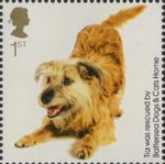 Battersea Dogs and Cats 1st Stamp (2010) Tia