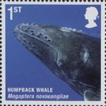 Mammals (Action for Species 4) 1st Stamp (2010) Humpback Whale