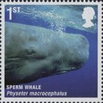 Mammals (Action for Species 4) 1st Stamp (2010) Sperm Whale