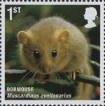 Mammals (Action for Species 4) 1st Stamp (2010) Dormouse