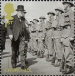 Britain Alone 1st Stamp (2010) Churchill