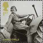 Britain Alone 1st Stamp (2010) Land Girls