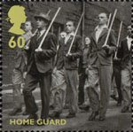 Britain Alone 60p Stamp (2010) Home Guard