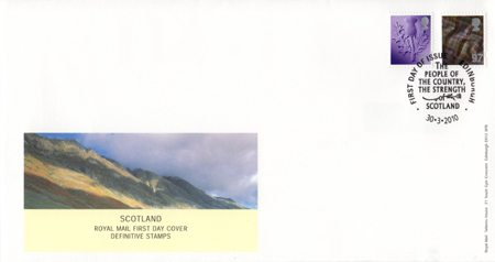 2010 Regional First Day Cover from Collect GB Stamps