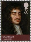 House of Stuart 60p Stamp (2010) Charles II