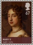 House of Stuart 67p Stamp (2010) Mary II