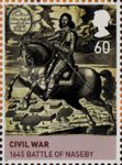 House of Stuart 60p Stamp (2010) The Battle of Naseby