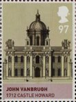 House of Stuart 97p Stamp (2010) John Vanbrugh