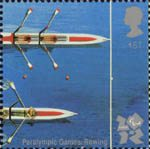 2012 Olympic and Paralympic Games 1st Stamp (2010) Paralympic Games Rowing