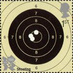 2012 Olympic and Paralympic Games 1st Stamp (2010) Shooting
