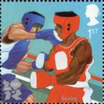 2012 Olympic and Paralympic Games 1st Stamp (2010) Boxing