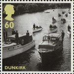 Britain Alone 60p Stamp (2010) Dunkirk - Operation Little Ships