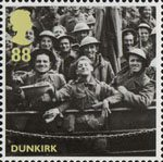 Britain Alone 88p Stamp (2010) Dunkirk - Rescued British Soldiers