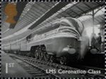 Great British Railways 1st Stamp (2010) LMS Coronation Class