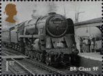 Great British Railways 1st Stamp (2010) BR Class 9F Evening Star