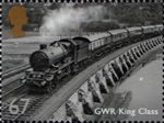 Great British Railways 67p Stamp (2010) GWR King Class
