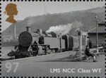 Great British Railways 97p Stamp (2010) LMS NCC Class WT