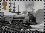 Great British Railways 97p Stamp (2010) SR King Arthur Class