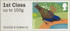 Pictorial Post & Go - Birds of Britain I 1st Stamp (2010) Starling