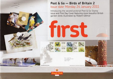Post & Go - Birds of Britain II (2011)