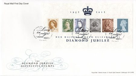 Diamond Jubilee Miniature Sheet (2012)