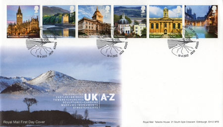 2012 Commemortaive First Day Cover from Collect GB Stamps