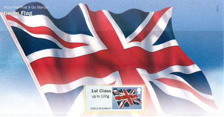 Post & Go Union Flag (2012)